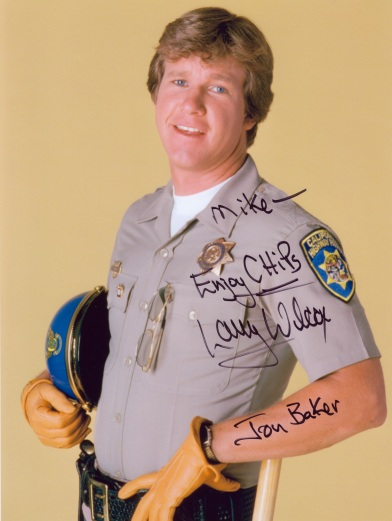 LarryWilcoxSigned8x10Chips1970s